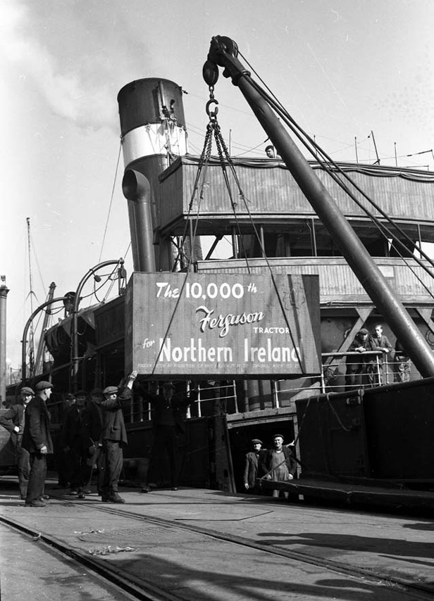 10,000th Ferguson tractor for Northern Ireland, 1 March 1952
