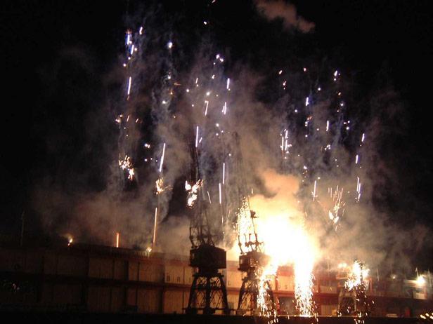 Harbour Festival Fireworks