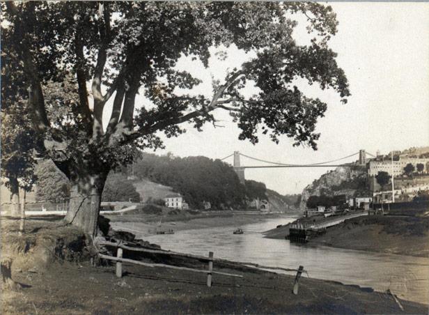 View down the river Avon