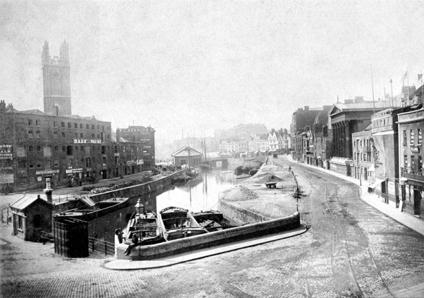 St Augustine's Reach from Stone Bridge, 1880s