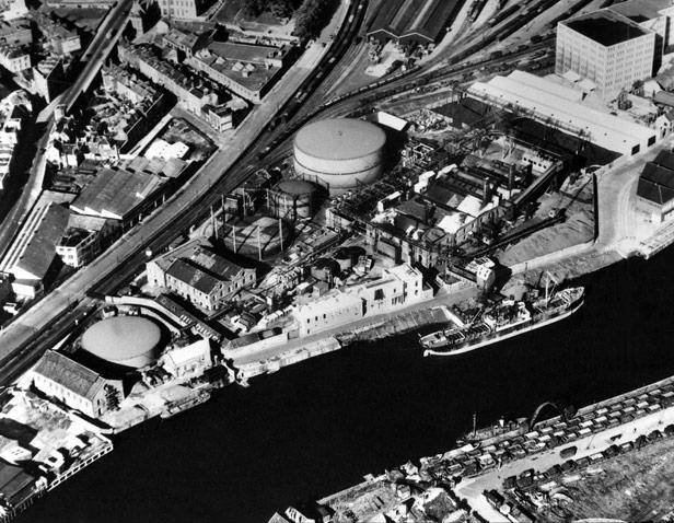 Gas Works, c. 1955