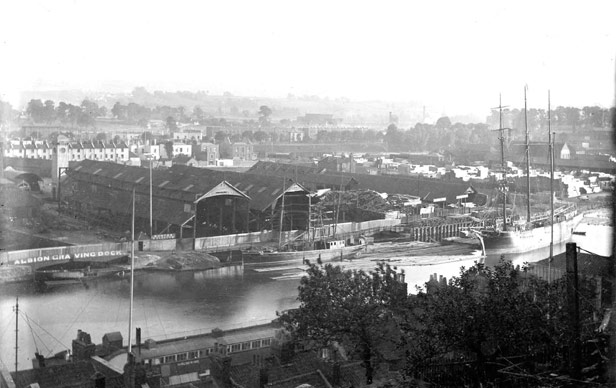 View from Clifton Wood, 1899-1912