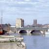 Bristol Bridge from Welsh Back (post-war)