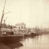 Granary from Redcliffe Bridge, 1875