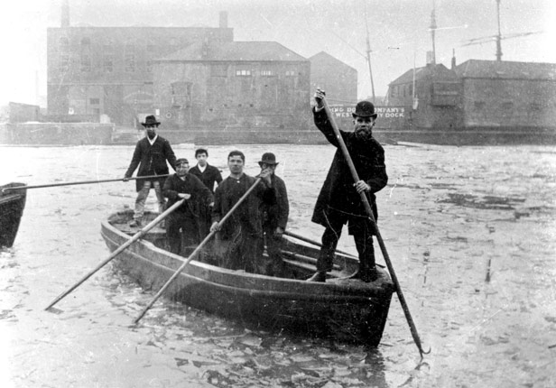 Gas Works Ferry, 23 January 1891