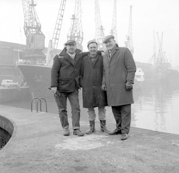 Group of Dockers