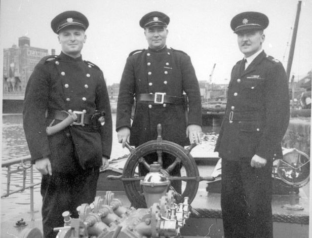 Crew of Pyronaut, c. 1955