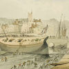 Dredging at St Augustine's Reach, 1820s