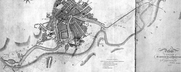 Jessop's Plan for the Floating Harbour, 1802