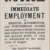 Bristol Docks Immediate Employment Notice
