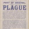 Port of Bristol Plague Warning Notice