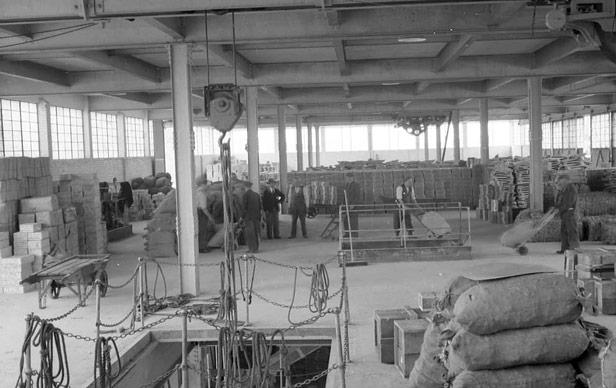 Inside M Shed, 1952