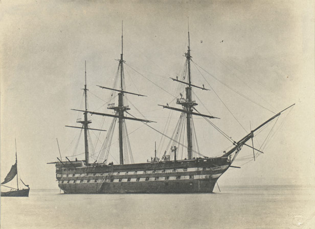 Former warship Formidable
