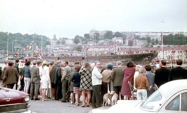 ss Great Britain, 1970