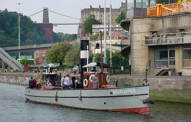 Mayflower, 2 September 2002
