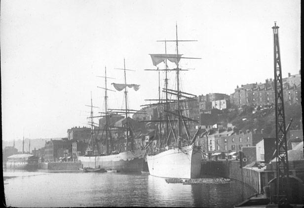 Mardyke holding wharf, 1890s