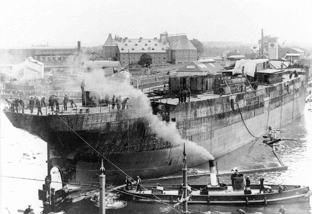 Ship launch