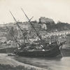 The ship Importer aground outside the Harbour, 1886